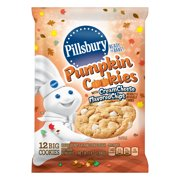 pillsbury ready to bake pumpkin cookies with cream cheese flavored chips 12