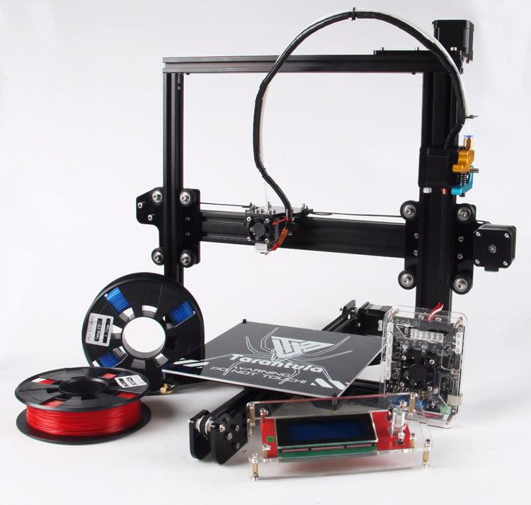 Newest 3D Printer TEVO Tarantula Impresora 3D Aluminium E...