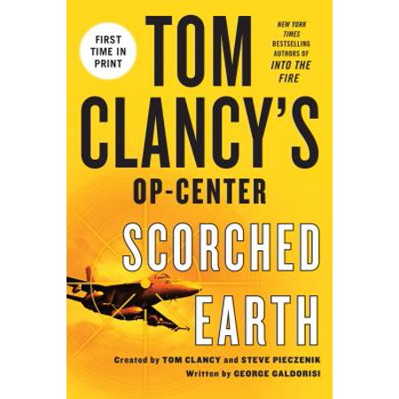 tom clancy op center books in order