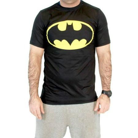 Batman Logo Shirt - Batman Logo Men's Performance Compression Athletic T-Shirt