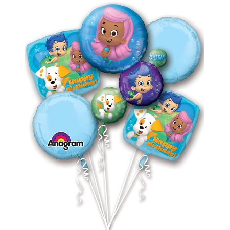 Bubble Guppies Balloon Bouquet (Each) - Party Supplies (Bubble Guppies Balloon)