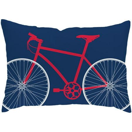 Checkerboard Ltd Bicycle Lumbar Pillow