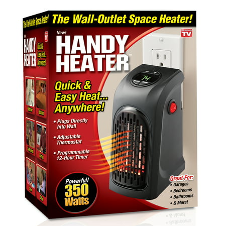 Handy Heater The Plug In Personal 350 Watts As Seen On Tv