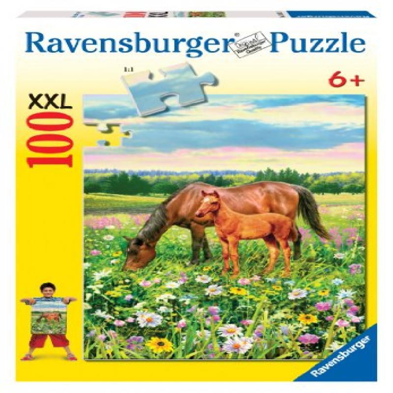 Ravensburger Horse'S Pasture 100 Pieces Puzzle by Generic