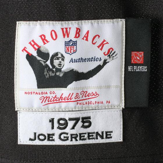 Joe Greene Pittsburgh Steelers Mitchell   Ness Authentic Throwback Jersey -  Black - Walmart.com 77846f393