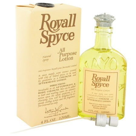 Royall Fragrances ROYALL SPYCE All Purpose Lotion / Cologne for Men 4 oz