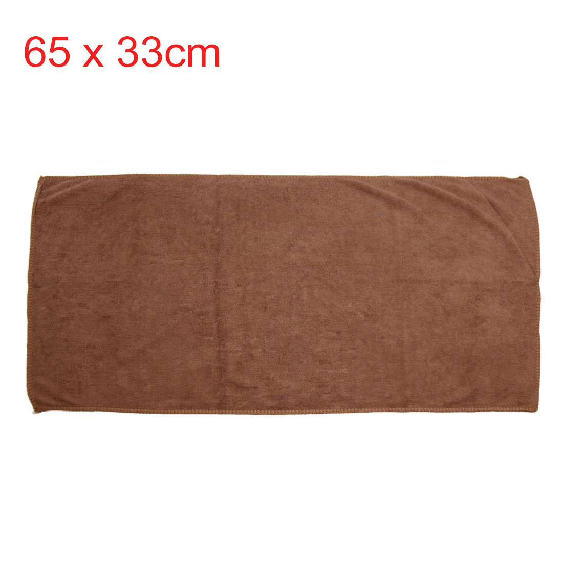3pcs 250gsm 65 x 33cm Blue Green Coffee Color Microfiber Cleaning Towel for Car - image 1 of 7
