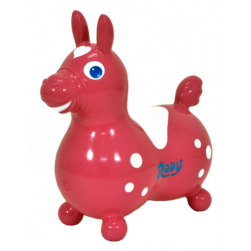 GYMNIC 8002 Rody Horse Ride on,Red