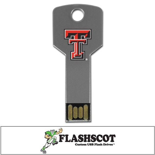 Texas Tech Red Raiders Flash Key USB Drive - 16GB