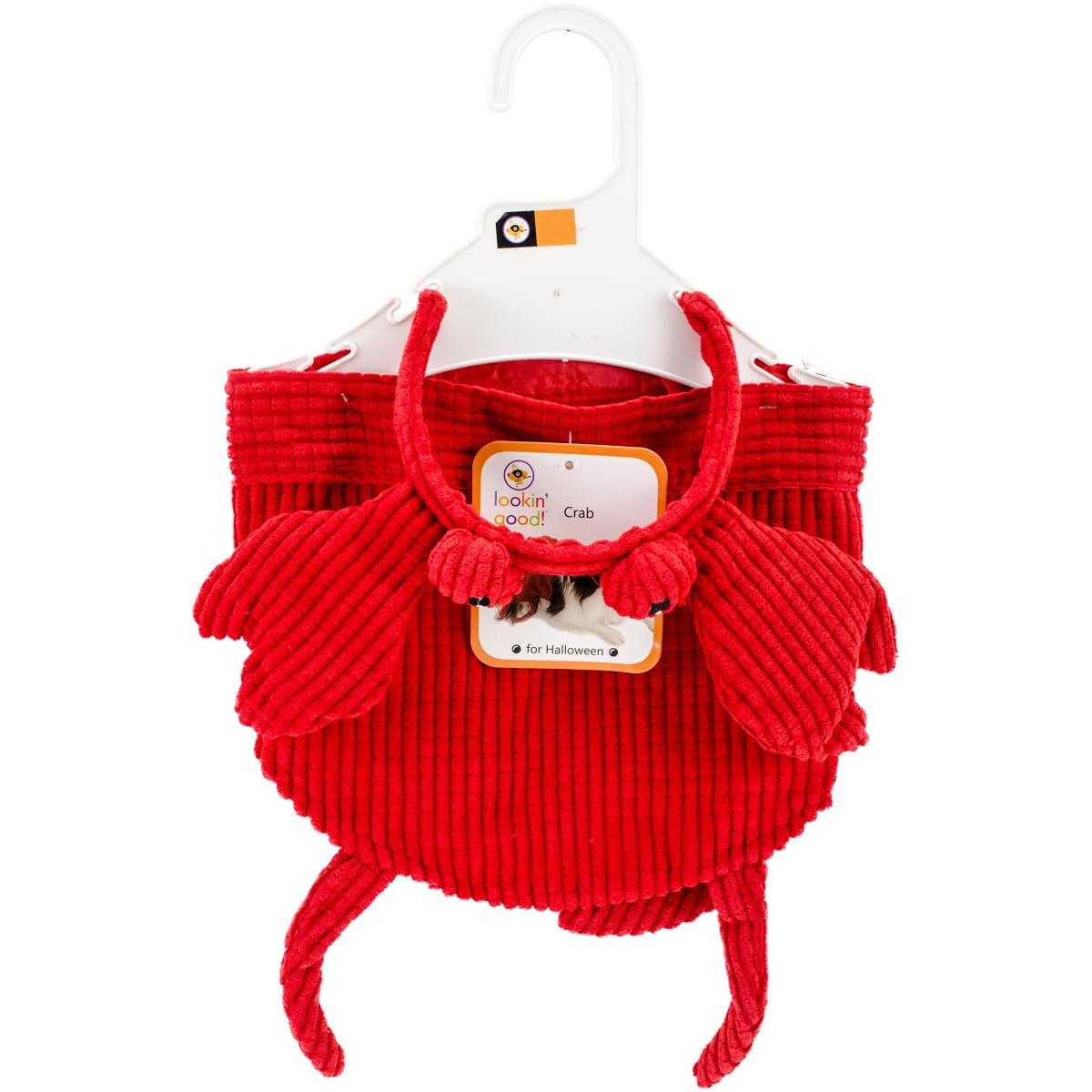 crab dog costume-medium/large 103725