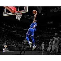 R.J. Barrett New York Knicks Unsigned 2019 NBA Rookie Debut Photograph
