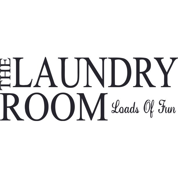 Laundry Room Loads Of Fun Quote Quotes Customized Wall Decal Custom Vinyl Wall Art Personalized Name