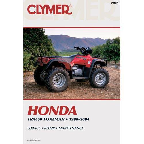Honda Trx450 Foreman 1998-2004