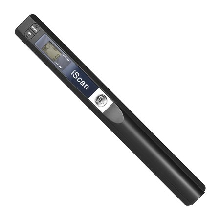 Portable Handheld Wand Wireless Scanner A4 Size 900DPI JPG/PDF Formate LCD Display with Protecting Bag for Business Document Reciepts Books (Best Handheld Airband Scanner)