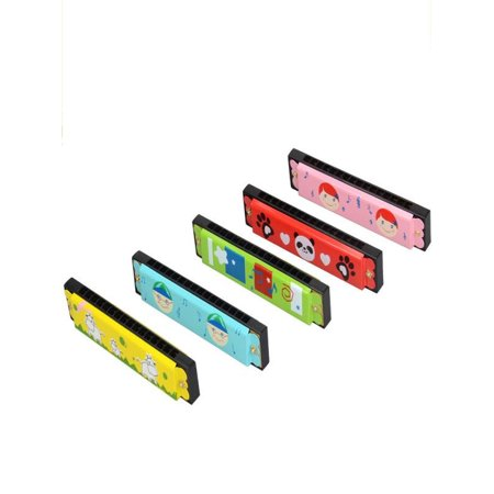 Harmonica 16 Holes Hooter Bugle Educational Toy Gift For Kids (Toy Bugle)