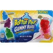 Baby Bottle Pop Gummy Blast with Fizzing Dipping Powder, 2.1 OZ