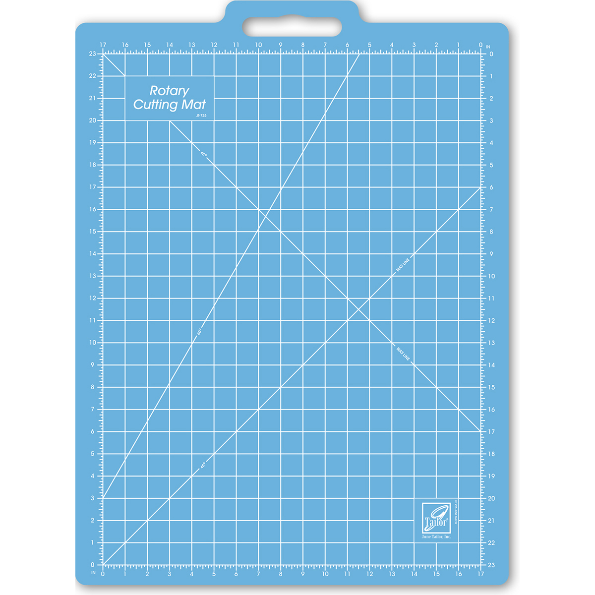 Gridded Rotary Mat with Handle