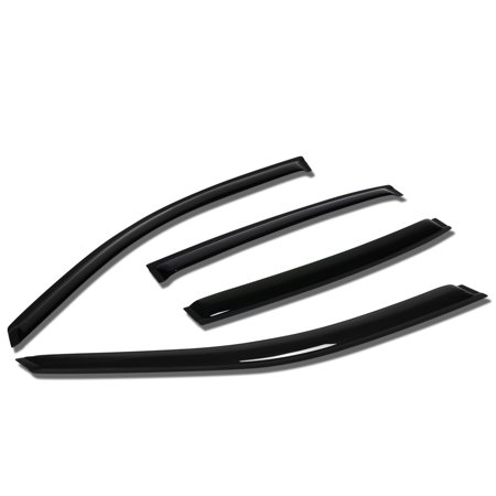 - For 2004 to 2008 Chevy Malibu Sedan 4pcs Window Vent Visor Deflector Rain Guard (Dark Smoke) 05 06 07