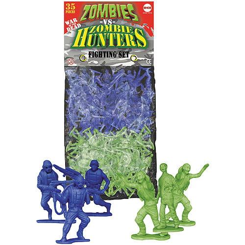 Spherewerx Zombies vs. Zombie Hunters Plastic Figures