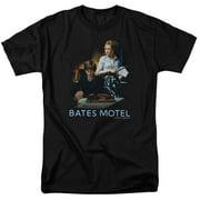 Bates Motel Die Alone Mens Short Sleeve Shirt