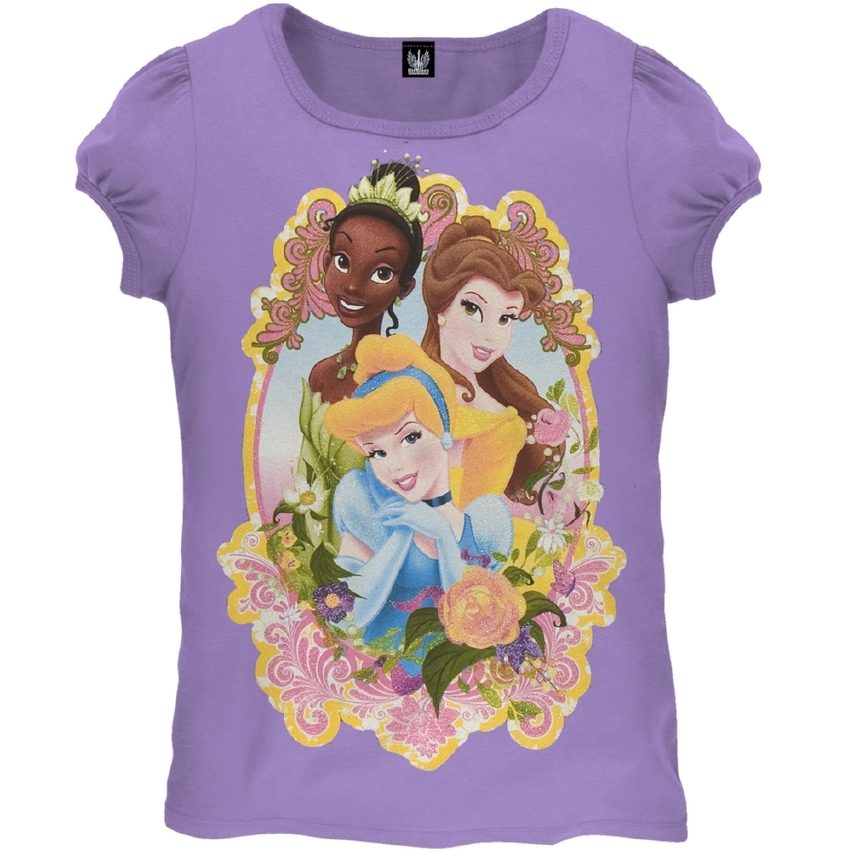 Disney Princess - Framed In Beauty Juvy Girls T-Shirt