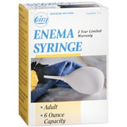 Cara Enema Syringe Adult 6-Ounce No. 13 1 Each (Pack of 6)