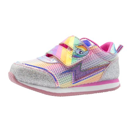 Best My Little Pony Toddler Rainbow Glitter Sneaker deal