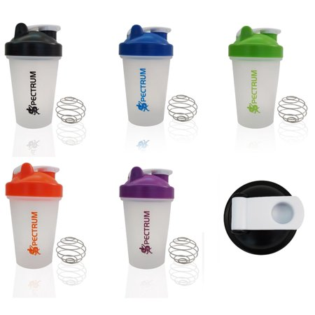 Samba Shaker ((2 PACK) Protein Shaker and Blender, 14 Ounces - Colors May Vary)
