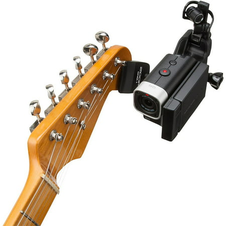 Zoom Zoom GHM-1 Guitar Headstock Mount for Action Cameras Zoom Guitar Patches
