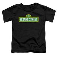 Sesame Street - Logo - Toddler Short Sleeve Shirt - 3T