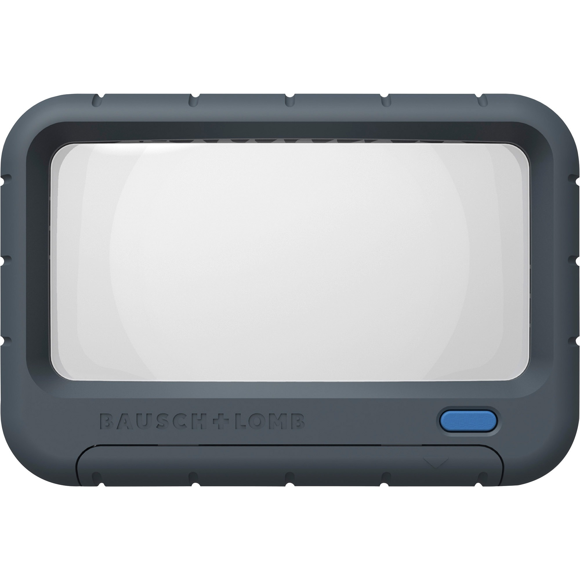 Bausch & Lomb, BAL628006, Rectangular Handheld LED Magnifier, 1 Each, Gray