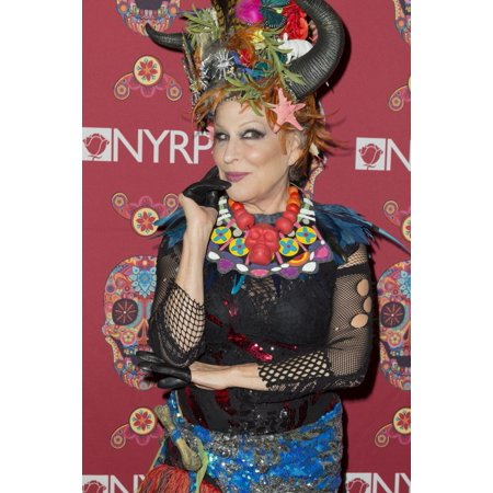 Bette Midler At Arrivals For New York Restoration ProjectS 20Th Anniversary Hulaween Party The Waldorf-Astoria Costume Halloween Party New York Ny October 30 2015 Photo By Lev RadinEverett Collection - Project Halloween Houston