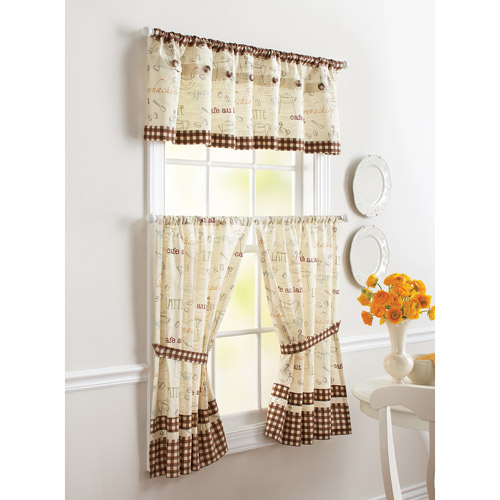 Charmant Better Homes And Gardens Cafe Window Tier   Walmart.com