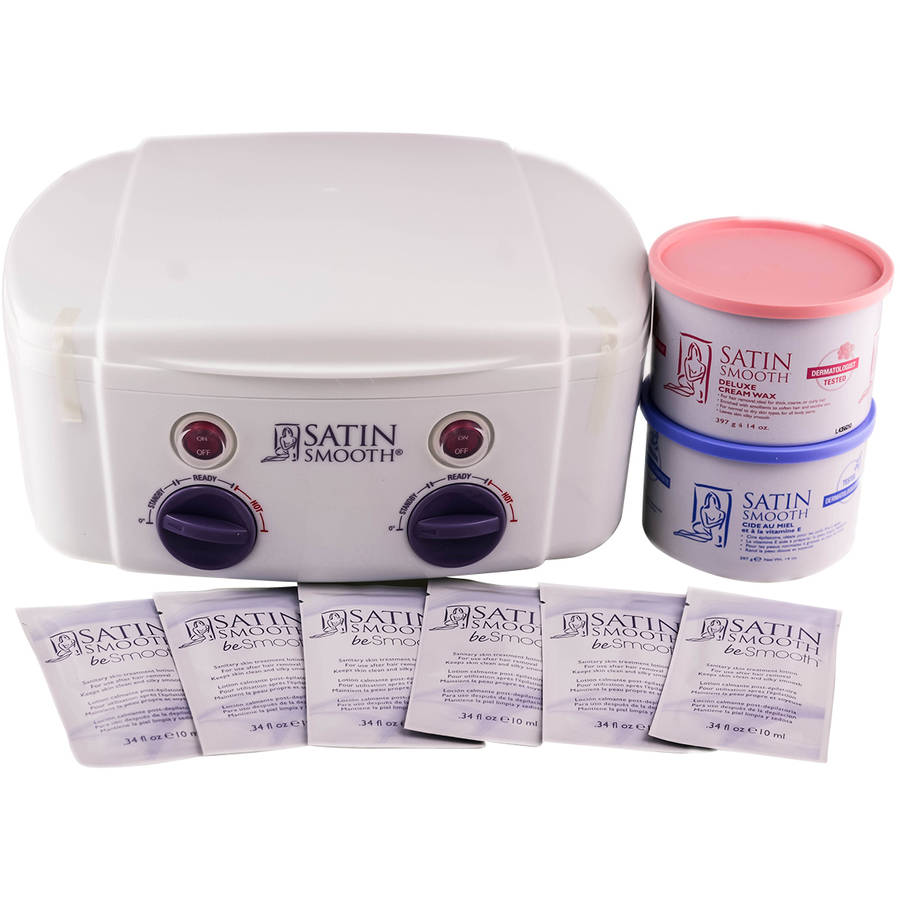 Satin Smooth Professional Double Wax Warmer Kit, SSW11CKIT