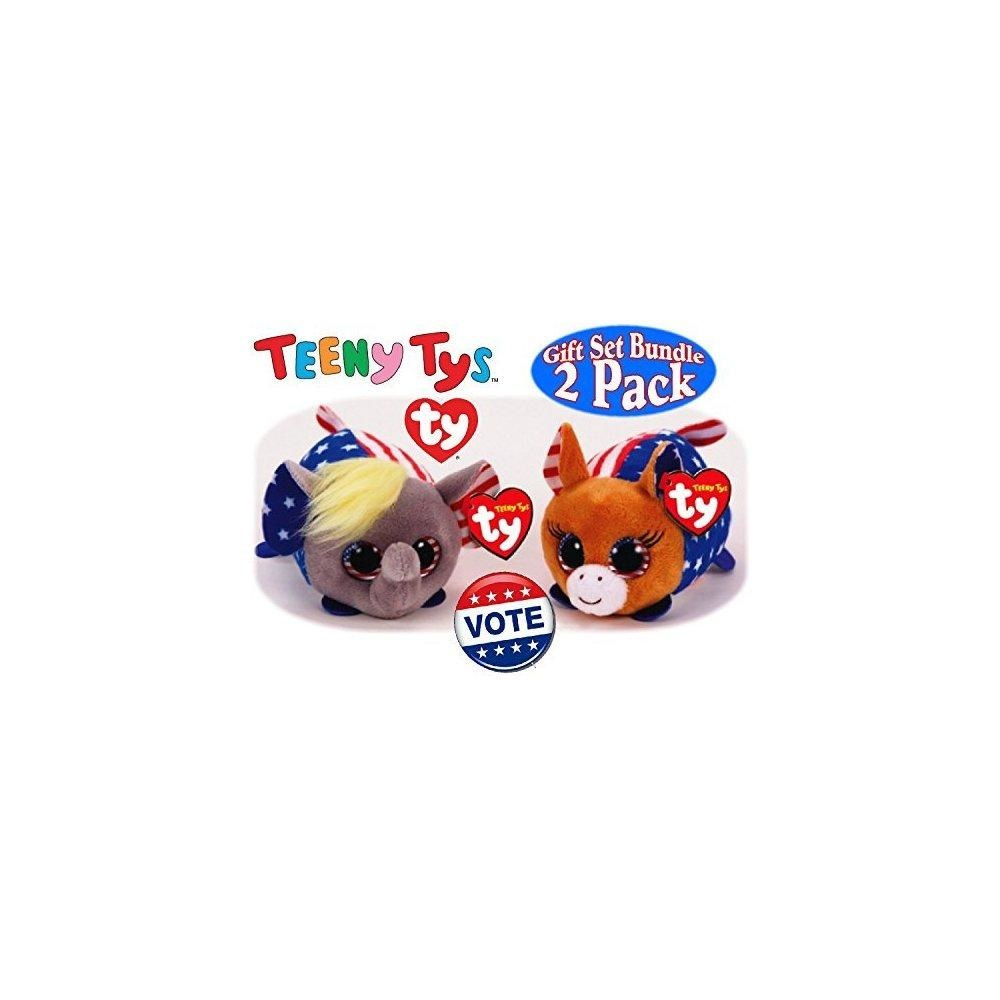 TY TEENY VOTE THE DONKEY