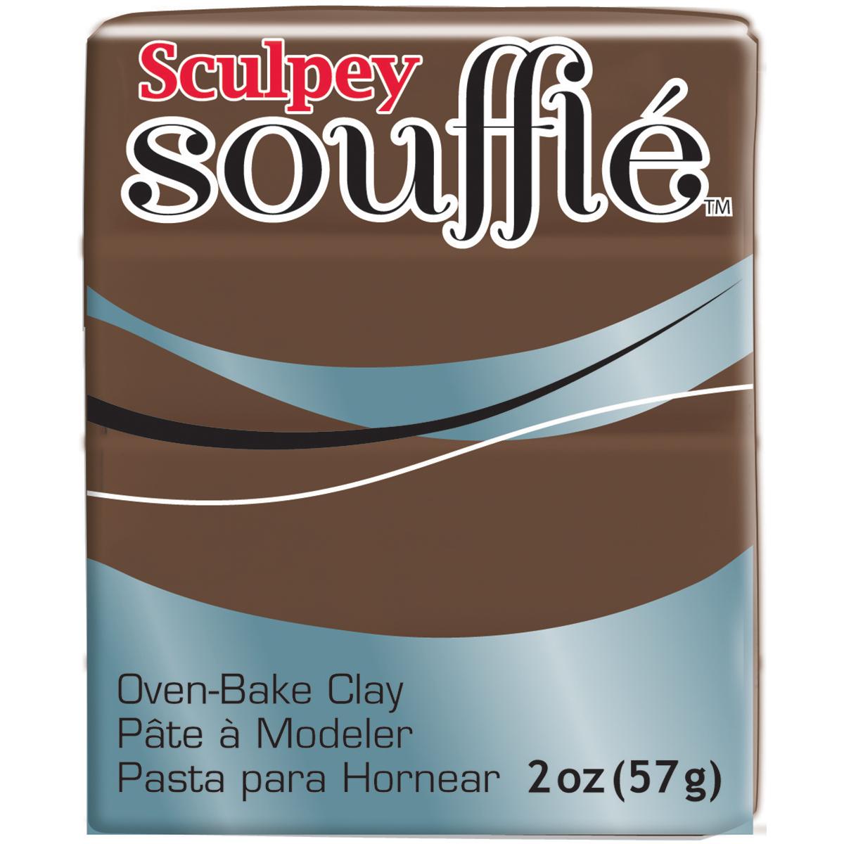 Sculpey Souffle Clay 2oz-Cowboy