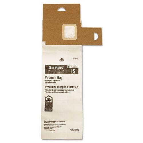 Commercial Upright Vacuum Cleaner Replacement Bags, 5/Pack