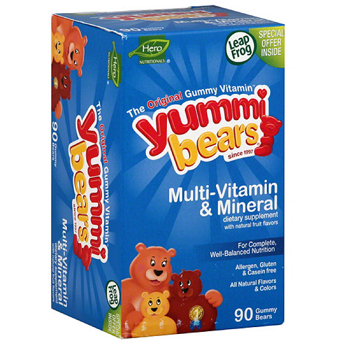 Yummi Bears Multi-Vitamin & Mineral Dietary Supplement, 90 count