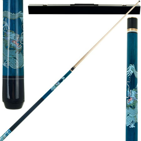 Professional Series Pool Cue - Blue Dragon Pool Stick