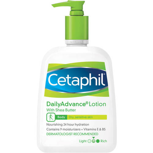 Cetaphil Dry Sensitive Daily Advance Ultra Hydrating Lotion, 16.0 fl oz