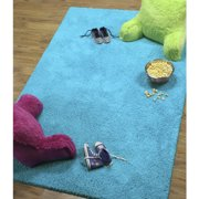 Your Zone Solid Textured Polyester Rug Collection Multiple Sizes And Colors Image 2 Of