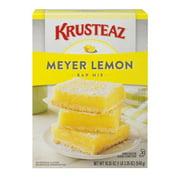 Krusteaz Meyer Lemon Bars Supreme Mix, 19.35 oz Box