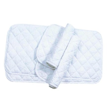 Imported Horse supply Quilted Leg Wrap White Assorted 174672