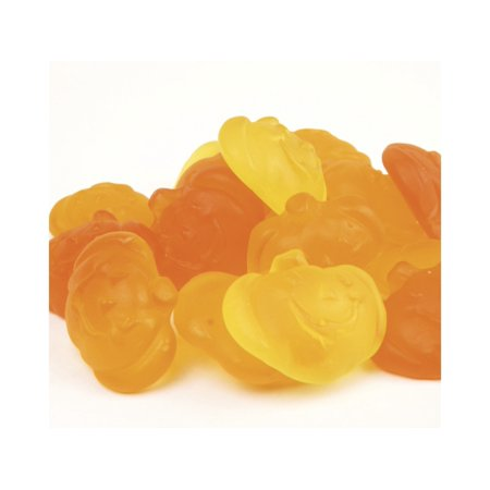 Gummi Pumpkins gummy pumpkins Fall Halloween candy orange yellow 1 - Halloween Candy Apples