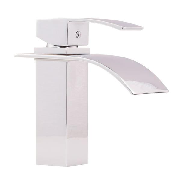 Miseno Ml531 Remi 1 2 2 2 Gpm Single Hole Waterfall Bathroom Faucet Walmart Com Walmart Com