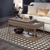 Better Homes & Gardens Nola Lift Top Coffee Table, Fine Ash Finish