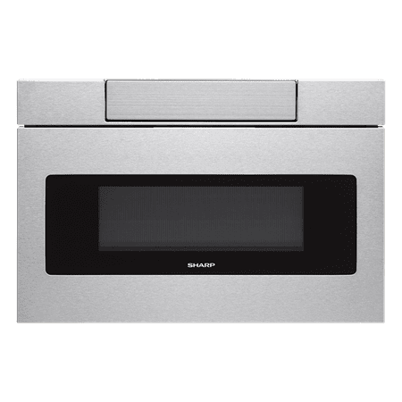 Sharp SMD2470AS Microwave Drawer Oven, 24-Inch 1.2 Cu. Feet, Stainless (24 Inch Built In Microwave With Trim Kit)