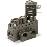 ARO A211SS-120-A Solenoid Air Control Valve,1/8 In,120VAC