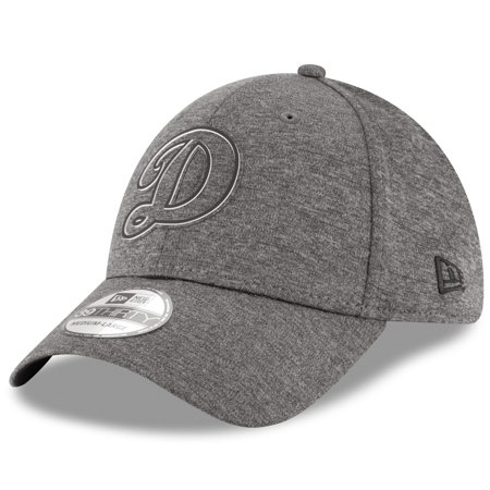 Los Angeles Dodgers New Era 2018 Clubhouse Collection Classic 39THIRTY Flex Hat - Graphite - Halloween Dance Clubs Los Angeles