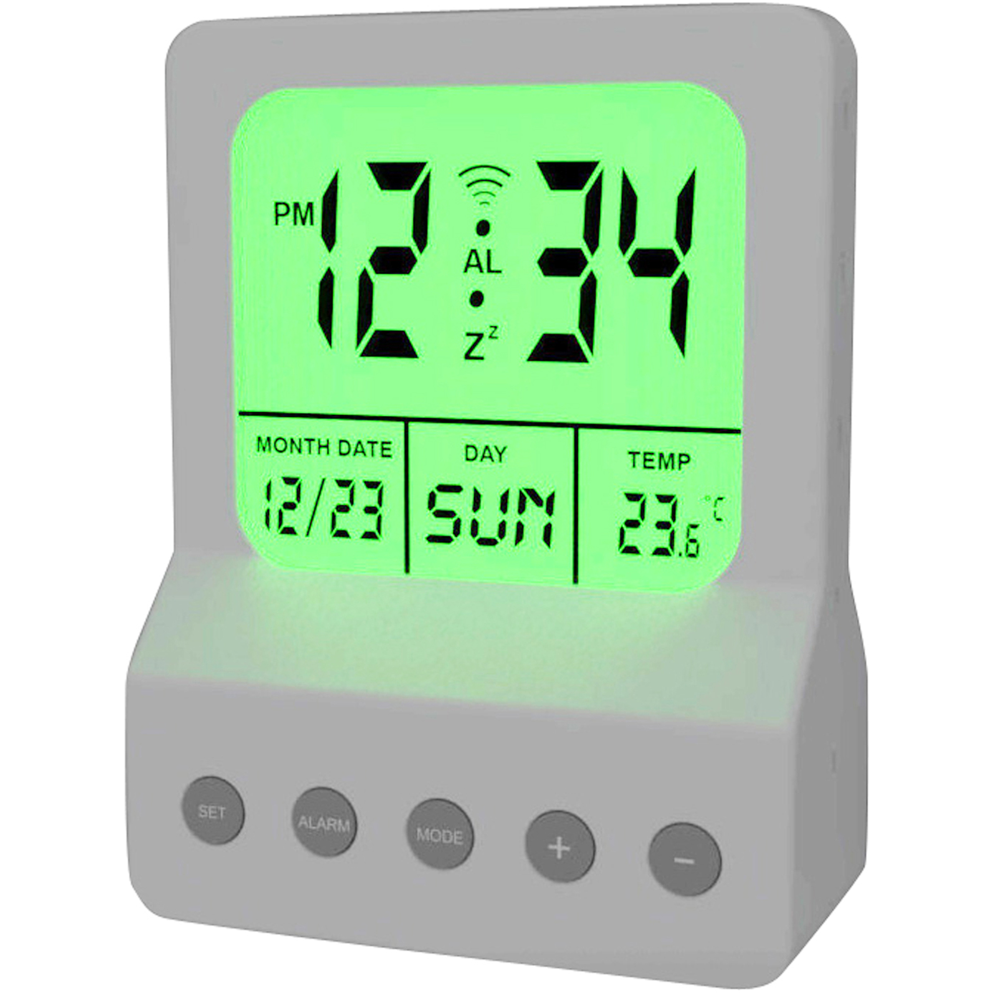 Meridian Led Digital Clock Night Light Walmartcom